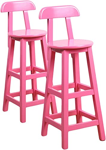 LIQICAI Wooden Bar Stool
