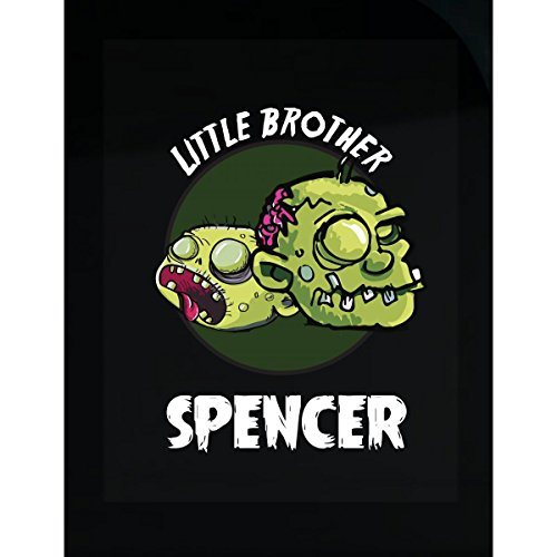 Prints Express Halloween Costume Spencer Little Brother Funny Boys Personalized Gift - Sticker -
