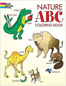 Nature ABC Coloring Book (Dover Coloring Books): Cathy Beylon ...