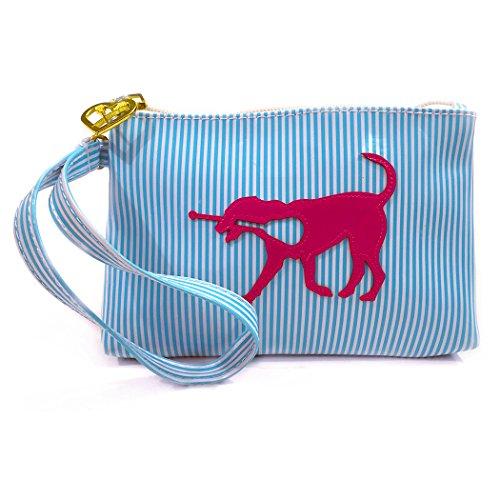 LuLa Dog Lacrosse Wristlet Bag - Rylee