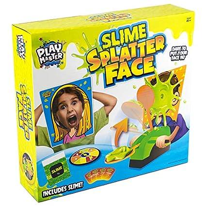 6 Ans et Plus Jeux pour Enfants RMS Splatter Face Spin The Wheel Slime Game