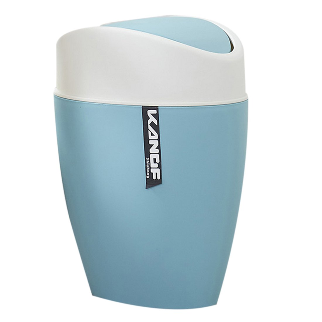 Amazon.com: Haoun PP Plastic Trash Can with Swing Lid for Office ...