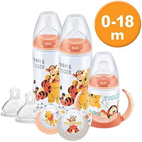 First Steps Pack de 3 Débit Moyen Silicone Bébé Alimentation Tétine BPA Free