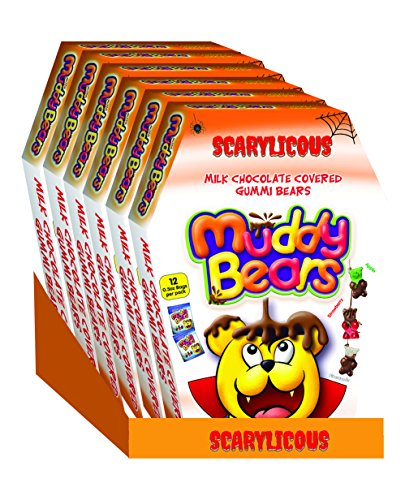 (Muddy Bears Halloween Coffin, 6 Ounce (Pack of)