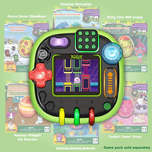 LeapFrog RockIt Twist Handheld Learning Game System Green