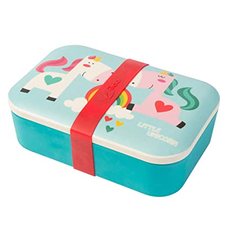 Biozoyg Kids Bento Lunchbox Made Of Bamboo I Lunch Box I Snack Box I