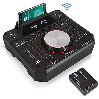 dj-mixer-wireless-speaker-interface