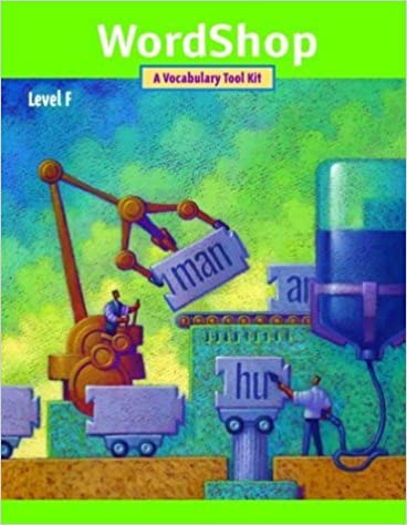 WordShop: Level F [2/12/2001] Glencoe/ McGraw-Hill - Jamestown Education