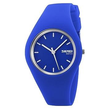 Reloj mujer Fashion Casual relojes de cuarzo correa de silicona deporte Lady relojes mujer niña vestido