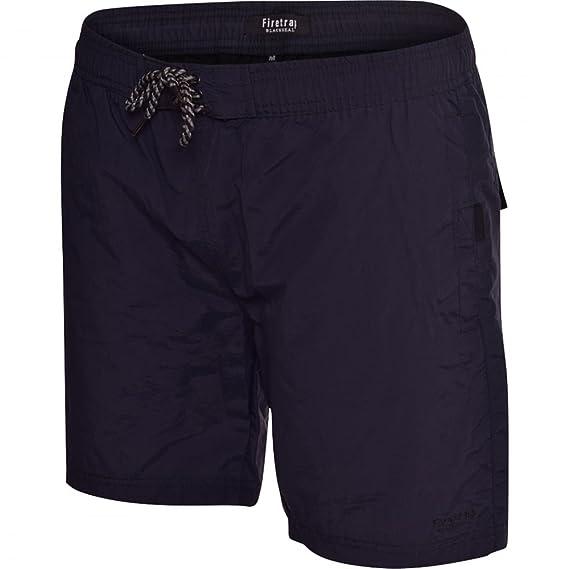 b9f6caafc4c0f Firetrap Mens Delmater Swim Shorts - Black -Small: Amazon.co.uk ...