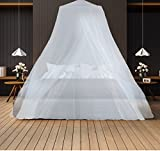 Winberg(R) Mosquito Net Bed Canopy Maximum Insect Net Protection No Skin Irritation Deet Free Natural Repellent Random colour , CNP001