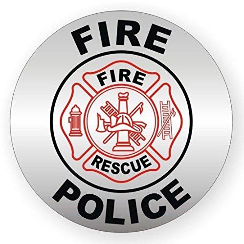 Pcs Superb Popular Fire Police Rescue Vinyl Stickers Signs - Superb vinyl signs
