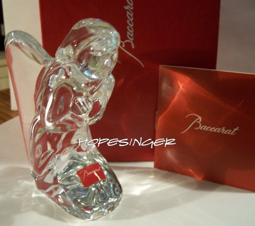 - BACCARAT Crystal Nativity Kneeling Angel - Retired
