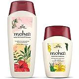 Moha: Herbal Anti-Dandruff Shampoo, 200ml with Free Herbal Hair Conditioner, 100ml