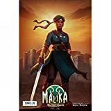 Malika - Warrior Queen Part One (144 Pages): An African Historical Fantasy Graphic Novel