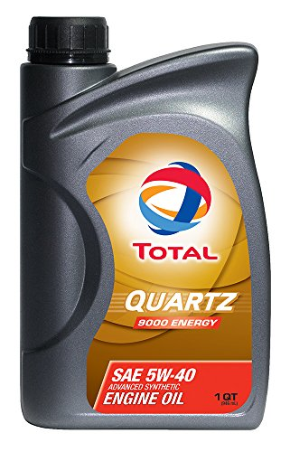 - Total 185703-12PK Quartz 9000 Energy 5W-40 Engine Oil - 1 Quart (Pack of 12)