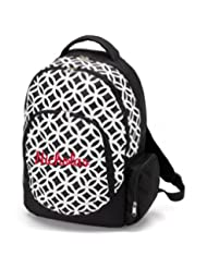 aBaby Sadie Backpack, Black, Name Nicholas