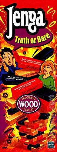 Jenga - Truth or Dare; Precision Wood Crafted (2000 Vintage) by Hasbro