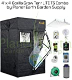 4' x 4' Gorilla Grow Tent Kit T5 Combo Package #2