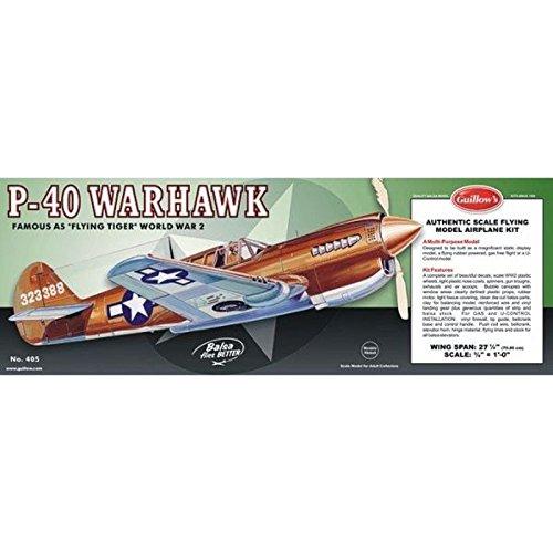 40 Model (Guillow's P-40 Warhawk Laser Cut Model Kit)