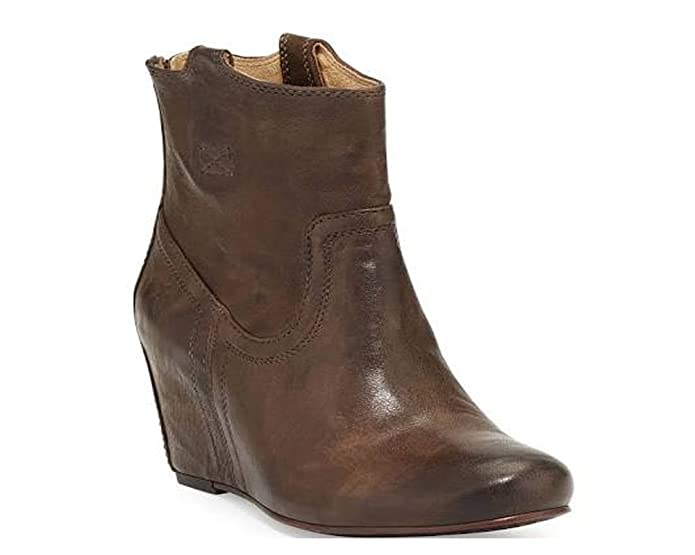51eb0301ca4 Amazon.com  New FRYE Women s Carson Wedge Bootie Taupe 9.5  Shoes
