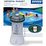 Intex 28604 530 GPH 220-240 V Cartridge Filter Pump - Grey