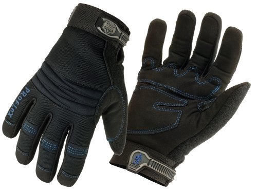 Ergodyne ProFlex 817WP Thermal Waterproof Utility Gloves, Large ()