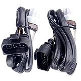 #6: ECCPP Oxygen Sensor Fits 234-4664 234-4666 2pcs/Set Upstream Downstream O2 Sensors for 1996-1999 Volkswagen VW Jetta Golf Passat
