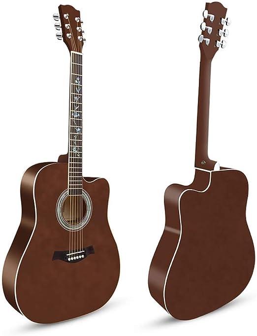 BAIYING-Guitarra Acústica Balada Guitarra Adulto Fingerstyle ...