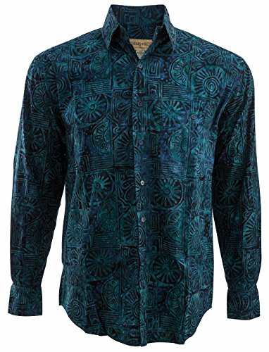 Johari West Indo Beach Tropical Hawaiian Batik Shirt