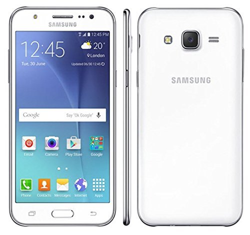 Samsung Galaxy J5 SM-J500H/DS GSM Factory Unlocked Smartphone, International Version (White)