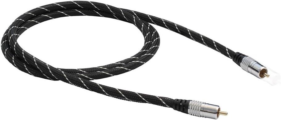 Black Connect Koax Koaxial Digitalkabel 1 5 M Elektronik