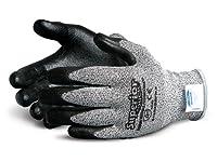 Dexterity Impact-Resistant Blended Composite Filament Fiber/Kevlar Cut-Resistant String-Knit Glove