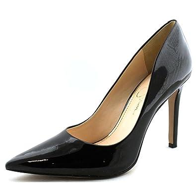 f0a5d0b4db16 Amazon.com  Jessica Simpson Cassani High Heel Pump - Black Patent  Shoes