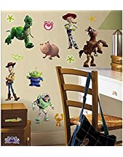 RoomMates RMK1428SCS Toy Story Peel & Stick Wall Decals Glo-in Dark, 34 Count