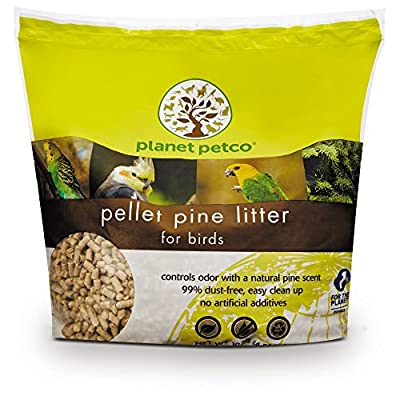 Planet Petco Pellet Pine Bird Litter, 10 lbs. from Planet Petco