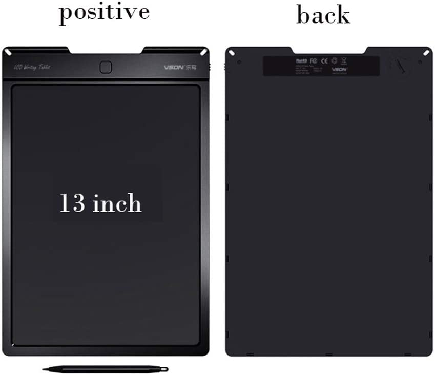 TIANDU 13 inches LCD Portable Electronic Tablet Graffiti Handwritten Notebook Tablet Suitable for Children with Handwriting Adult School Office at Home