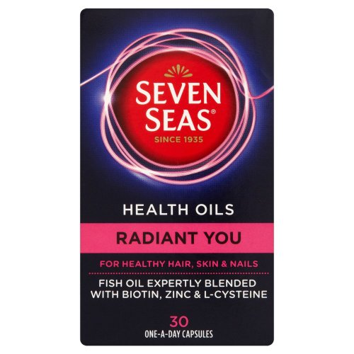 Seven Seas Health Oils Radiant You Multi Vitamin Capsules Pack of 30
