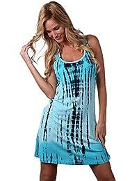 Ingear Tie Dye Racerback Dress , Tank Dress