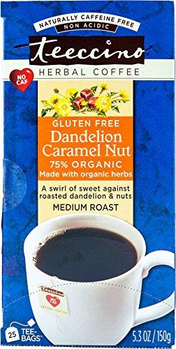Teeccino Dandelion Caramel Chicory Caffeine product image