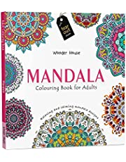 Mandala: Colouring Books for Adults with Tear Out Sheets (Adult Colouring Book) Paperback