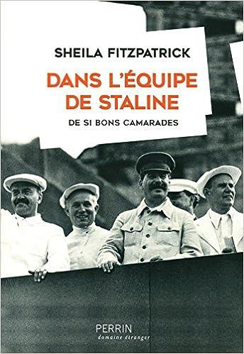 Couverture Dans l'équipe de Staline