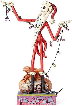Pesadilla Antes De Navidad Santa Jack - Wrapped Up in Christmas Spirit Estatua Standard: Amazon.es: Juguetes y juegos