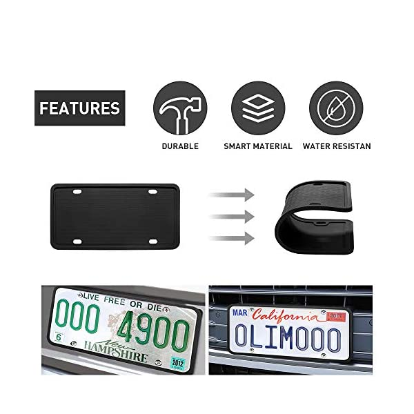 License-Plate-Frames-Features