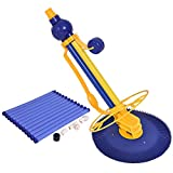 Goplus Automatic Swimming Pool Cleaner Set Clean Vacuum Inground Above Ground W/ 12 Hoses