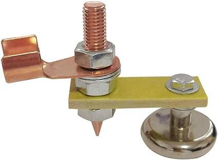 SALDATORI magnetico Terra Morsetto di blocco per saldatura elettrica Piher qualità MG2