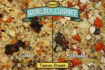 Higgins Pet Food Wordly Cuisines Tuscan Dream Cook, Cool & Serve Food 1 pack ( 13 oz)