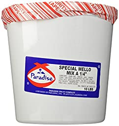 Paradise Special Mello Mix 1/4 Inch, 10 Pound Tub