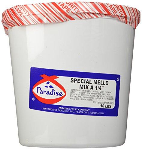 Mix Fruitcake (Paradise Special Mello Mix 1/4 Inch, 10 Pound Tub)