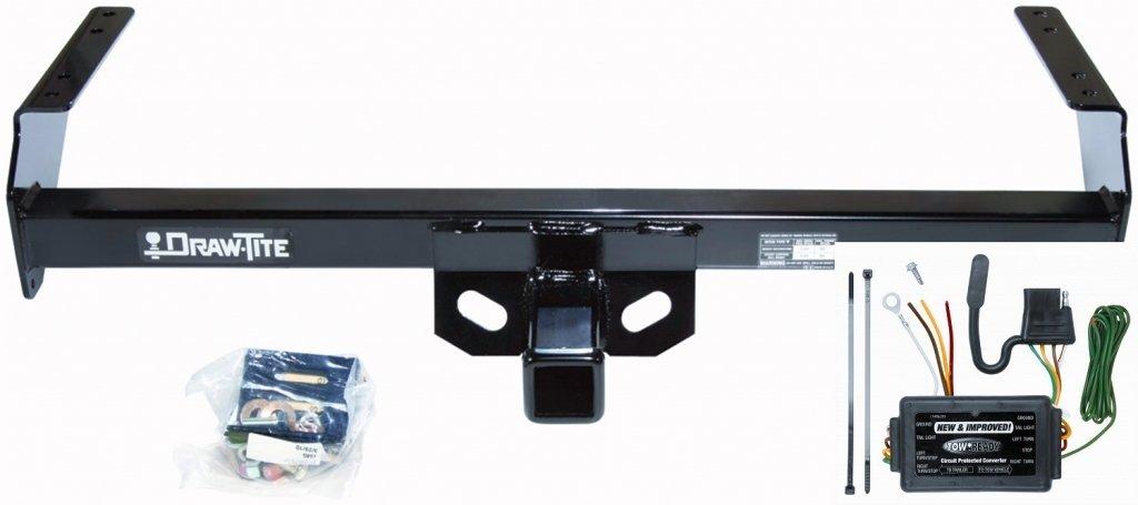 amazon com: drawtite trailer hitch + wire kit fits 98-04 nissan frontier  pickup 75186 118362: automotive